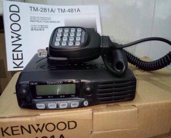 Bộ đàm Kenwood TM 281A / 481A