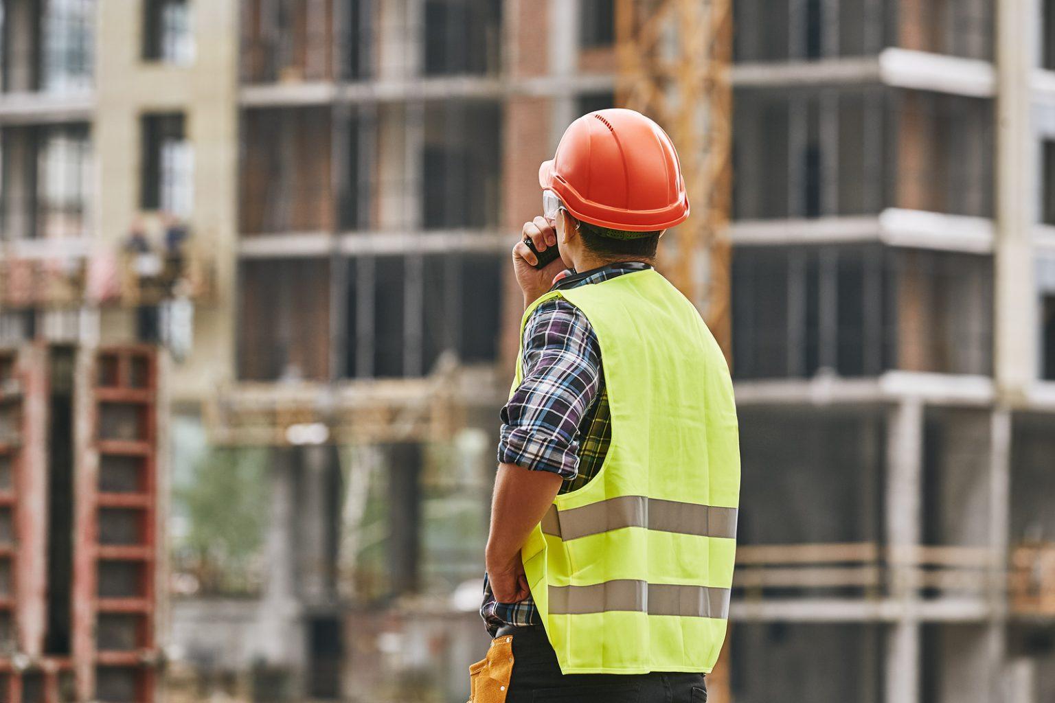 Bộ đàm cho công nhân công trình