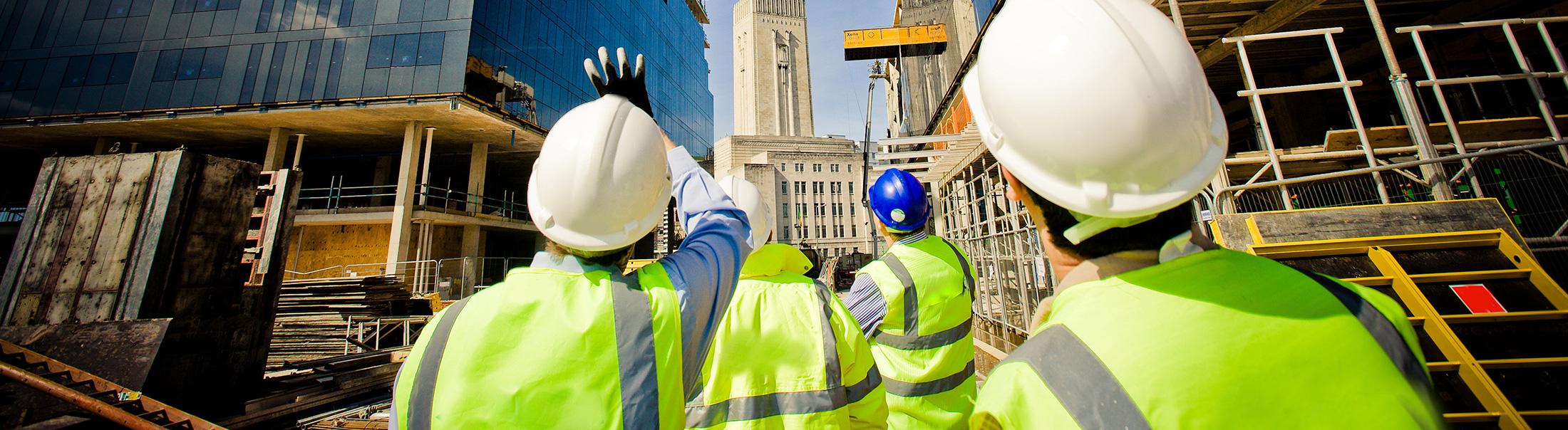 Bộ đàm cho công trình xây dựng