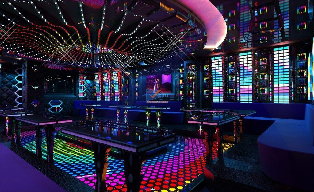 bộ đàm quán karaoke
