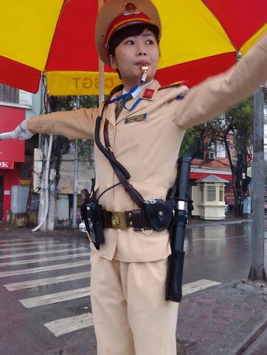 bộ đàm cho cảnh sát giao thông